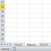 Jak ukryć arkusz w Excelu